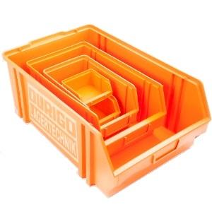 Sichtlagerkasten aus Kunststoff
