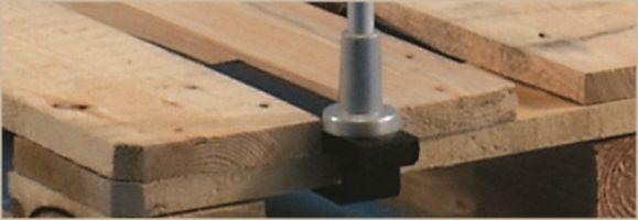 Stahlklammer für Paletten