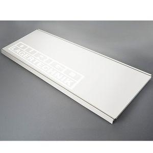 Stahlfachboden, juraweiß RAL 9001 1
