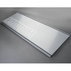 Stahlfachboden, weißaluminium RAL 9006 1