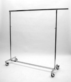 Zusammenlegbarer Rollständer, chrom 1