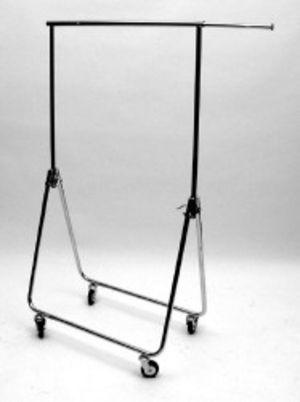 Reiserollständer chrom, H 1500-1700mm 1