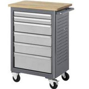 Rollwerkbank mit beidseitig ausziehbaren Schubladen 1