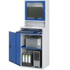 Computerschrank mit Monitorgehäuse 1