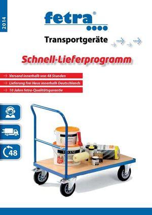 fetra Transportgeräte Schnell-Lieferprogamm 1