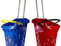 Einkaufskorb rollbar